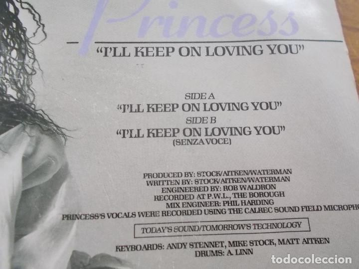 Discos de vinilo: PRINCESS. I´LL KEEP ON LOVING YOU - Foto 3 - 121449959
