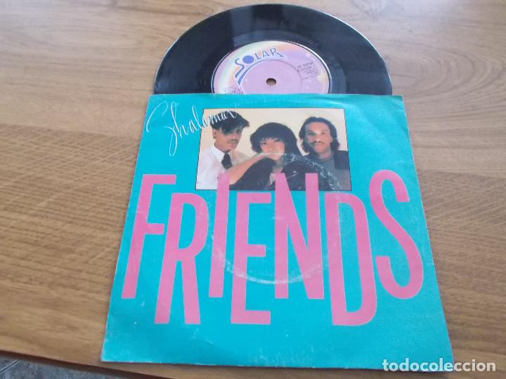 SHALAMAR. FRIENDS. I JUST STOPPED BY BECAUSE I HAD TO (Música - Discos - Singles Vinilo - Funk, Soul y Black Music)