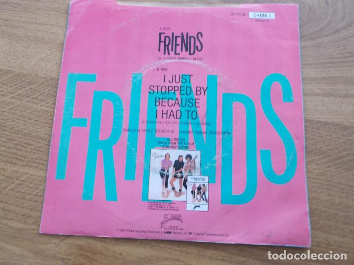 Discos de vinilo: SHALAMAR. FRIENDS. I JUST STOPPED BY BECAUSE I HAD TO - Foto 2 - 121450111