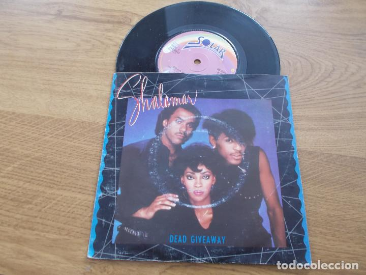 SHALAMAR. DEAD GIVEAWAY. (Música - Discos - Singles Vinilo - Funk, Soul y Black Music)