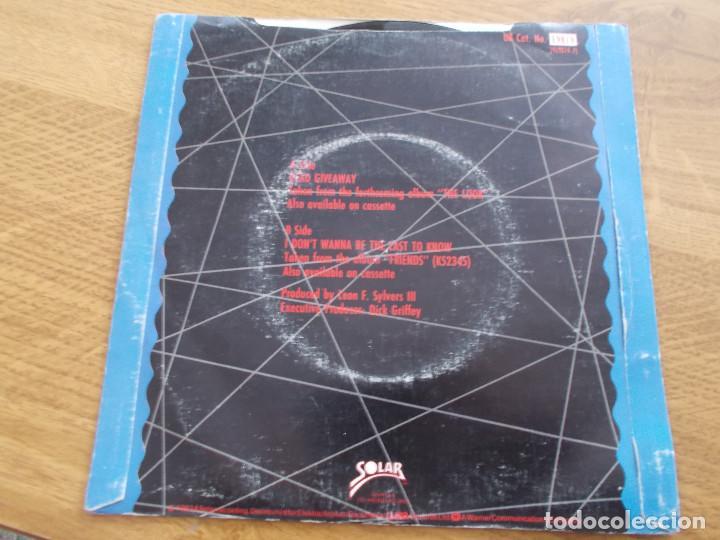 Discos de vinilo: SHALAMAR. DEAD GIVEAWAY. - Foto 2 - 121450215