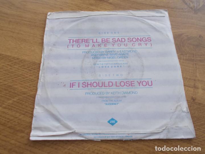 Discos de vinilo: BILLY OCEAN, THER´LL BE SAD SONGS. - Foto 2 - 121451607