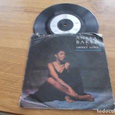 Discos de vinilo: ANITA BAKER. SWEET LOVE.. Lote 121451743