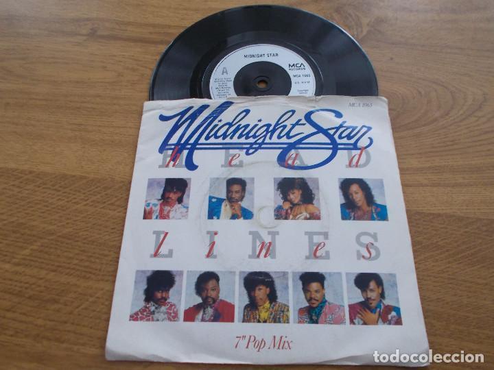 MIDNIGHT STAR. HEADLINES (Música - Discos - Singles Vinilo - Funk, Soul y Black Music)