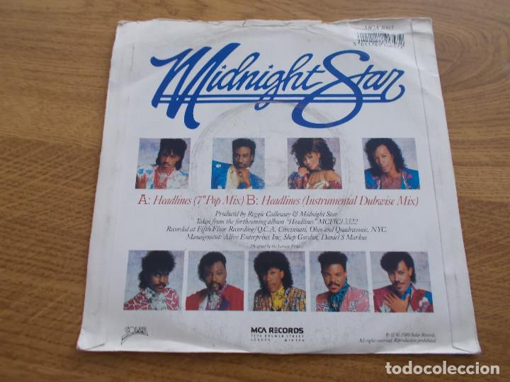 Discos de vinilo: MIDNIGHT STAR. HEADLINES - Foto 2 - 121451835