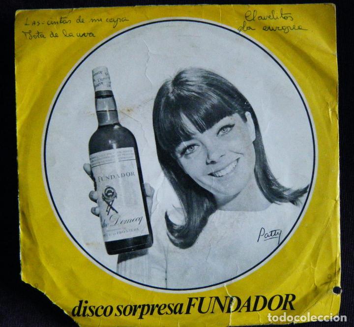 DISCO SORPRESA FUNDADOR / CLAVELITOS. - LA AURORA. -LAS CINTAS DE MI CAPA. -JOTA DE LA UVA. (Música - Discos de Vinilo - Maxi Singles - Flamenco, Canción española y Cuplé)