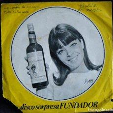 Discos de vinilo: DISCO SORPRESA FUNDADOR / CLAVELITOS. - LA AURORA. -LAS CINTAS DE MI CAPA. -JOTA DE LA UVA.. Lote 121452563