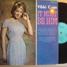 Discos de vinilo: VIKKI CARR - IT MUST BE HIM - LP UK 1967 - LIBERTY. Lote 121456775