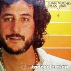 Discos de vinilo: JUAN PARDO - JUAN MUCHO MAS QUE JUAN, LP HISPAVOX 1980. Lote 121458919