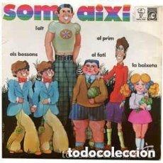 Discos de vinilo: LAURA ALMERICH / JOSEP MARIA ESPINÀS / FRANCESC BURRULL – SOM AIXÍ - EP CONCENTRIC 1970. Lote 121459583