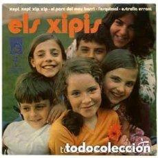 Discos de vinilo: ELS XIPIS XEPI XEPI XIP XIP/EL PARC DEL MEU BARRI/ESTRELLA ERRANT +1 EP 1971 CONCENTRIC CATALA. Lote 121459711