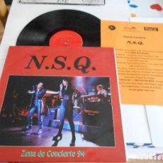 Discos de vinilo: N.S.Q.-MAXI ZONA DE CONCIERTO 94. Lote 121459999