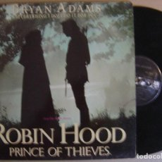 Discos de vinilo: BRYAN ADAMS - EVERYTHING I DO - ROBIN HOOD PRINCE OF THIEVES BANDA SONORA - MAXI ESPAÑOL 1984 - A&M. Lote 121461395