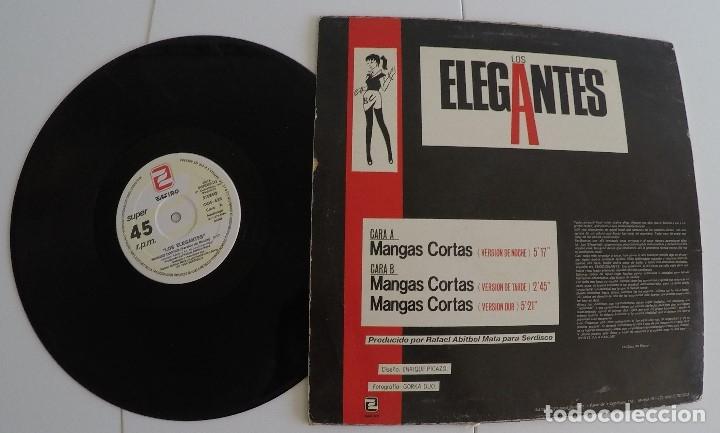 Discos de vinilo: Los Elegantes - Mangas Cortas (Maxi-Single) - Foto 2 - 66211898
