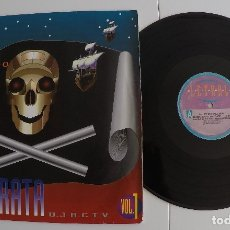 Discos de vinilo: PIRATE CLUB - D.J. PIRATA VOL. 1 + D.J. PIRATA VOL. 2. Lote 82337544