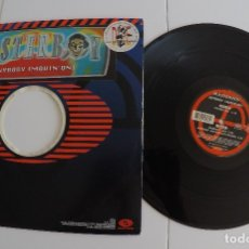 Discos de vinilo: MASTERBOY - ANYBODY (MOVIN' ON). Lote 82349096