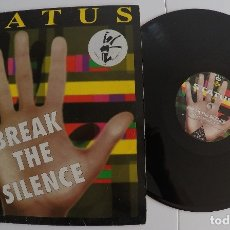 Discos de vinilo: STATUS - BREAK THE SILENCE. Lote 89015864