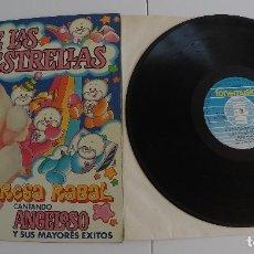 Discos de vinilo: TERESA RABAL - PAÍS DE LAS ESTRELLAS (CANTANDO ANGELOSO Y SUS MAYORES ÉXISTOS) LP. Lote 66167950