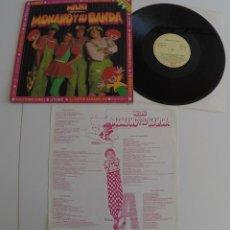 Discos de vinilo: MILIKI PRESENTA MONANO Y SU BANDA - LP ALBUM. Lote 66169402