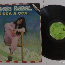 Discos de vinilo: TERESA RABAL - DE OCA A OCA LP ALBUM. Lote 66170062