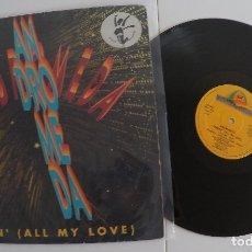 Discos de vinilo: ANDROMEDA - SENDIN' (ALL MY LOVE). Lote 121476395