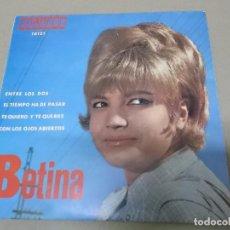 Discos de vinilo: BETINA (EP) ENTRE LOS DOS AÑO 1968. Lote 121477339