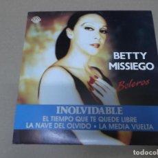 Discos de vinilo: BETTY MISSIEGO (EP) INOLVIDABLE AÑO 1991. Lote 121478603