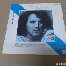 Discos de vinilo: BIBIANO (SN) ESTAMOS CHEGANDO O MAR AÑO 1976 - PROMOCIONAL. Lote 121478659