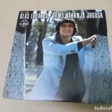 Discos de vinilo: BLAS EDUARDO (SN) COMO NARANJA JUGOSA AÑO 1978 - PROMOCIONAL. Lote 121478767