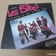 Discos de vinilo: LOS BIBOS (EP) PUNTACON AÑO 1966. Lote 121481795