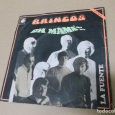 Discos de vinilo: LOS BRINCOS (SN) OH MAMA AÑO 1969. Lote 121482127