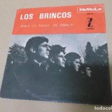 Discos de vinilo: LOS BRINCOS (SN) BAILA LA PULGA (SOLO PORTADA) AÑO 1965. Lote 121482155