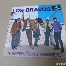 Discos de vinilo: LOS BRAVOS (SN) TRAPPED AÑO 1969. Lote 121482323