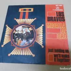 Discos de vinilo: LOS BRAVOS (SN) JUST HOLDING ON AÑO 1968. Lote 121482363