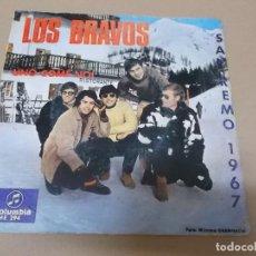 Discos de vinilo: LOS BRAVOS (SN) UNO COME NOI AÑO 1966. Lote 121482387