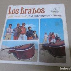 Discos de vinilo: LOS BRAVOS (SN) COMO NADIE MAS AÑO 1967. Lote 121482419