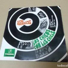 Discos de vinilo: LOS BRAVOS (EP) LOS CHICOS CON LAS CHICAS AÑO 1967. Lote 121482479