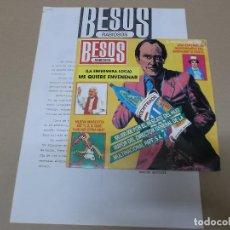 Discos de vinilo: BESOS RABIOSOS (SN) ME QUIERE ENVENENAR AÑO 1987 – HOJA PROMOCIONAL. Lote 121483231