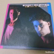 Discos de vinilo: BICEPS (SN) MUÑECO DE FICCION AÑO 1986. Lote 121483327