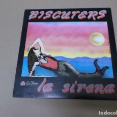 Discos de vinilo: BISCUTERS (SN) LA SIRENA AÑO 1991 - PROMOCIONAL. Lote 121483839