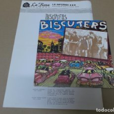 Discos de vinilo: BISCUTERS (SN) NO SE LO QUE TIENES AÑO 1990 – PROMOCIONAL + HOJA PROMO. Lote 121483871