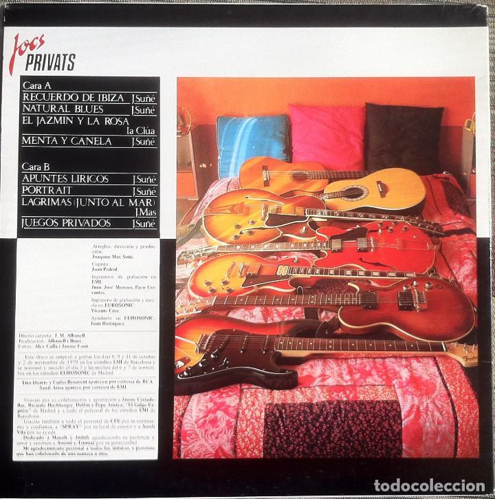 Discos de vinilo: Max - Juegos privados - LP - BS-32132 - 1980 Edición española original - Foto 2 - 121485327