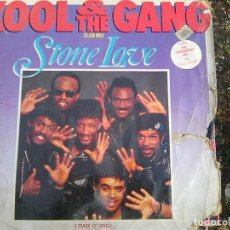 Discos de vinilo: KOOL & THE GANG - STONE LOVE (POLYGRAM, 1985) . Lote 121496955