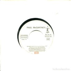 Discos de vinilo: PAUL MCCARTNEY / MY BRAVE FACE / FLYING TO MY HOME (SINGLE 1989). Lote 121506679