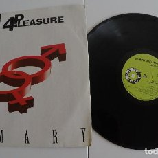 Discos de vinilo: 4PLEASURE - JOHNNY AND MARY. Lote 121513975