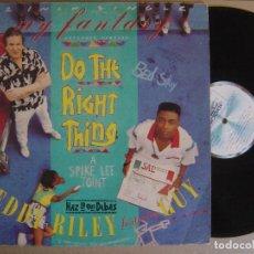 Discos de vinilo: TEDDY RILEY FEATURING GUY - MY FANTASY - MAXI SINGLE ESPAÑOL 1989 - MOTOWN. Lote 121520423