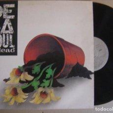 Discos de vinilo: DE LA SOUL - DE LA SOUL IS DEAD - LP ESPAÑOL 1991 - GASA - CON INSERTO. Lote 121521075