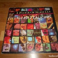 Discos de vinilo: A FLOCK OF SEAGULLS IT´S NOT ME TALKING MAXI SINGLE 3 TEMAS. Lote 121535919