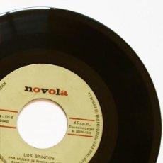 Discos de vinilo: SINGLE - BRINCOS (1970) - ESA MUJER + HERMANO ISMAEL - FERNANDO ARBEX & MIGUEL MORALES -. Lote 121539683