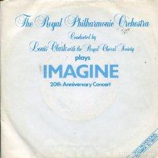 Discos de vinilo: THE ROYAL PHILHARMONIC ORCHESTRA / IMAGINE / HAPPY XMAS (WAR IS OVER) SINGLE PROMO 1983). Lote 121542347